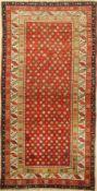 Karabagh alt (Stern Design), Kaukasus, um 1930, Wolle auf Wolle, ca. 228 x 117 cm, EHZ: 3Karabagh