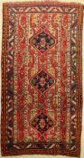 Karabagh alt, Kaukasus, um 1940, Wolle auf Wolle, ca. 197 x 104 cm, EHZ: 3Karabagh Rug, Caucasus,