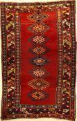 Kazak antik, Kaukasus, ende 19 Jhd., Wolle auf Wolle, ca. 203 x 130 cm, EHZ: 4Kazak Rug, Caucasus,