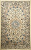 Nain, Persien, ca. 20 Jahre, Wolle mit Seide, ca. 256 x 160 cm, EHZ: 2Nain Rug, Persia, approx. 20