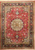 Täbriz alt, Persien, ca. 40 Jahre, Korkwolle, ca. 340 x 240 cm, EHZ: 2Tabriz Carpet, Persia, approx.