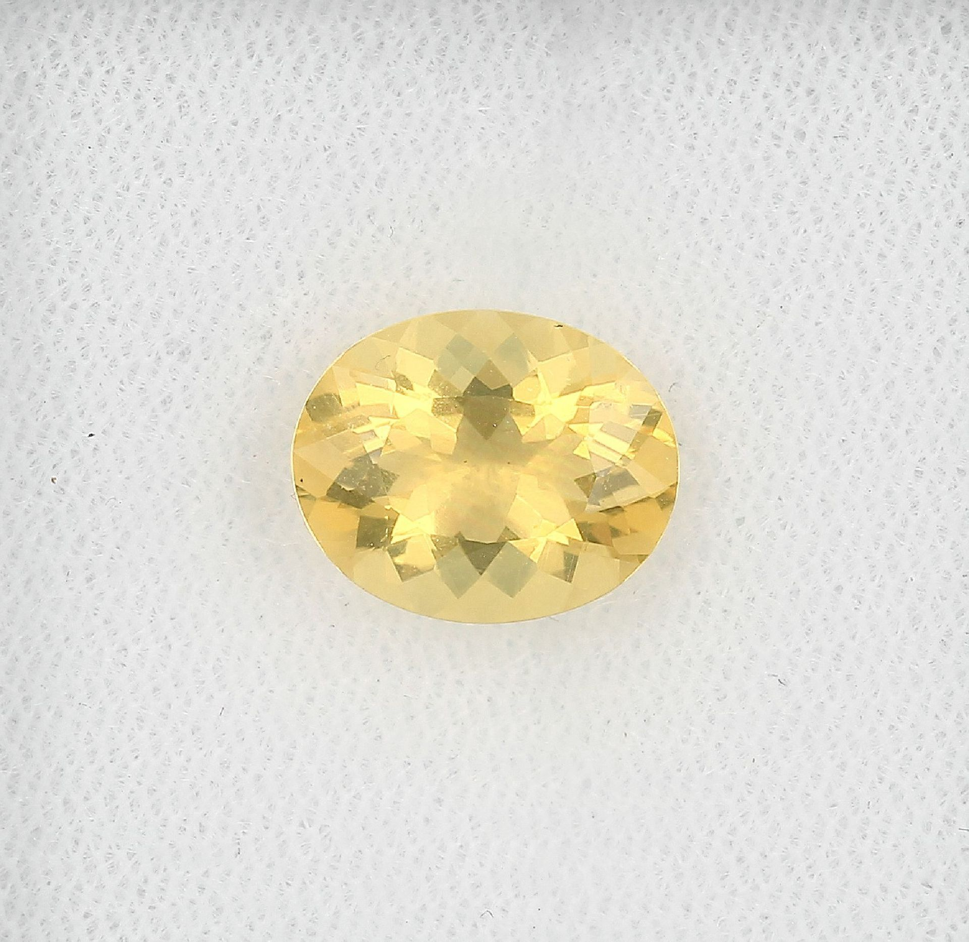 Los 30001 - Loser Opal, ca. 2.70 ct, oval facett., gelb Schätzpreis: 340, - EURLoose opal, approx. 2.70 ct ,