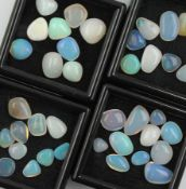 Lot lose Opale zus. ca. 55.35 ct Schätzpreis: 1500, - EURLot loose opals total approx. 55.35 ct