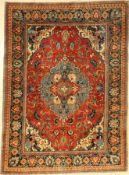 Täbriz alt, Persien, um 1930, Korkwolle, ca. 191 x 140 cm, EHZ: 3Tabriz rug old, Persia, around
