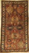 "Karabagh ""Kelley"" alt, Kaukasus, um 1920, Wolle auf Wolle, ca. 340 x 184 cm, EHZ: 4-5Karabagh """