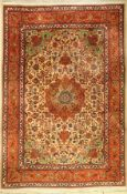 Täbriz alt, Persien, ca. 40 Jahre, Korkwolle, ca. 302 x 204 cm, EHZ: 2-3Tabriz carpet old, Persia,