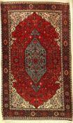 Goltogh alt, Persien, ca. 60 Jahre, Korkwolle, ca. 222 x 132 cm, EHZ: 2Goltogh rug old, Persia,