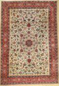 Täbriz alt (50 RAJ), Persien, ca. 60 Jahre,Korkwolle, ca. 356 x 243 cm, EHZ: 2-3Tabriz carpet old (