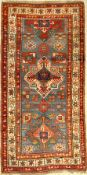 Karabagh alt, Kaukasus, um 1910, Wolle auf Wolle, ca. 220 x 119 cm, EHZ: 3Karabagh rug old,