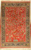 Ghom Kork, Persien, ca. 30 Jahre, Korkwollemit Seide, ca. 165 x 108 cm, EHZ: 2Qum Kurk rug,