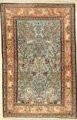 Ghom alt, Persien, ca. 40 Jahre, Wolle auf Baumwolle, ca. 162 x 105 cm, EHZ: 2Qum Rug, Persia, circa