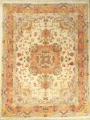 "Feiner Täbriz (Part-Silk) ""50 RAJ"", Persien, ca. 30 Jahre alt, Korkwolle mit Seide, ca. 200 x 156"
