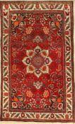 Bidjar alt, Persien, ca. 60 Jahre, Wolle auf Baumwolle, ca. 210 x 140 cm, EHZ: 2-3Bijar Rug, Persia,