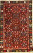 Kuba Schirwan, Ostkaukasus, um 1900, Wolle auf Wolle, ca. 166 x 104 cm, EHZ: 3Kuba Shirvan Rug,