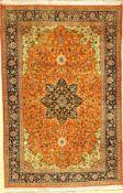 Ghom Kork, Persien, ca. 30 Jahre, Korkwolle, ca. 210 x 138 cm, EHZ: 2Kurk Qum Rug, Persia, circa