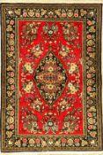 Ghom, Persien, ca. 30 Jahre, Wolle auf Baumwolle, ca. 152 x 106 cm, EHZ: 2Qum Rug, Persia, circa