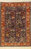 Täbriz, Persien, ca. 50 Jahre, Wolle auf Baumwolle, ca. 148 x 102 cm, EHZ: 2-3Tabriz Rug, Persia,