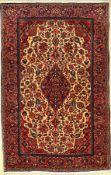 Keschan Kork alt, Persien, um 1940, Korkwolle, ca. 200 x 130 cm, EHZ: 2, (gereinigt)Kurk Kashan Rug,