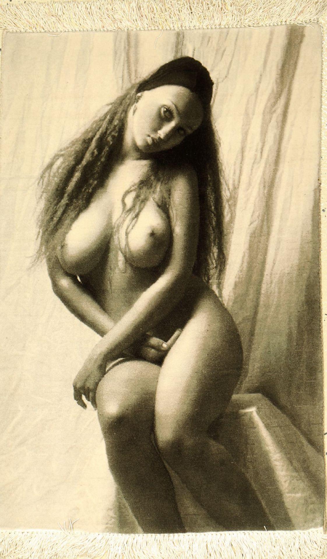"""Täbriz fein, Persien, ca. 20 Jahre, Korkwolle auf Seide, ca. 82 x 53 cm, EHZ: 2Fine Tabriz """""""