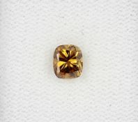 Loser Diamant, 0.71 ct Natural fancy intense orangy brown/si1, mit HRD-Expertise Schätzpreis: