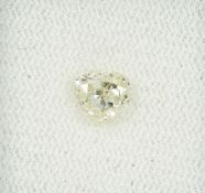 Loser Diamant, 0.99 ct Natural fancy yellow/vvs2, mit HRD-Expertise Schätzpreis: 2310, - EURLoose