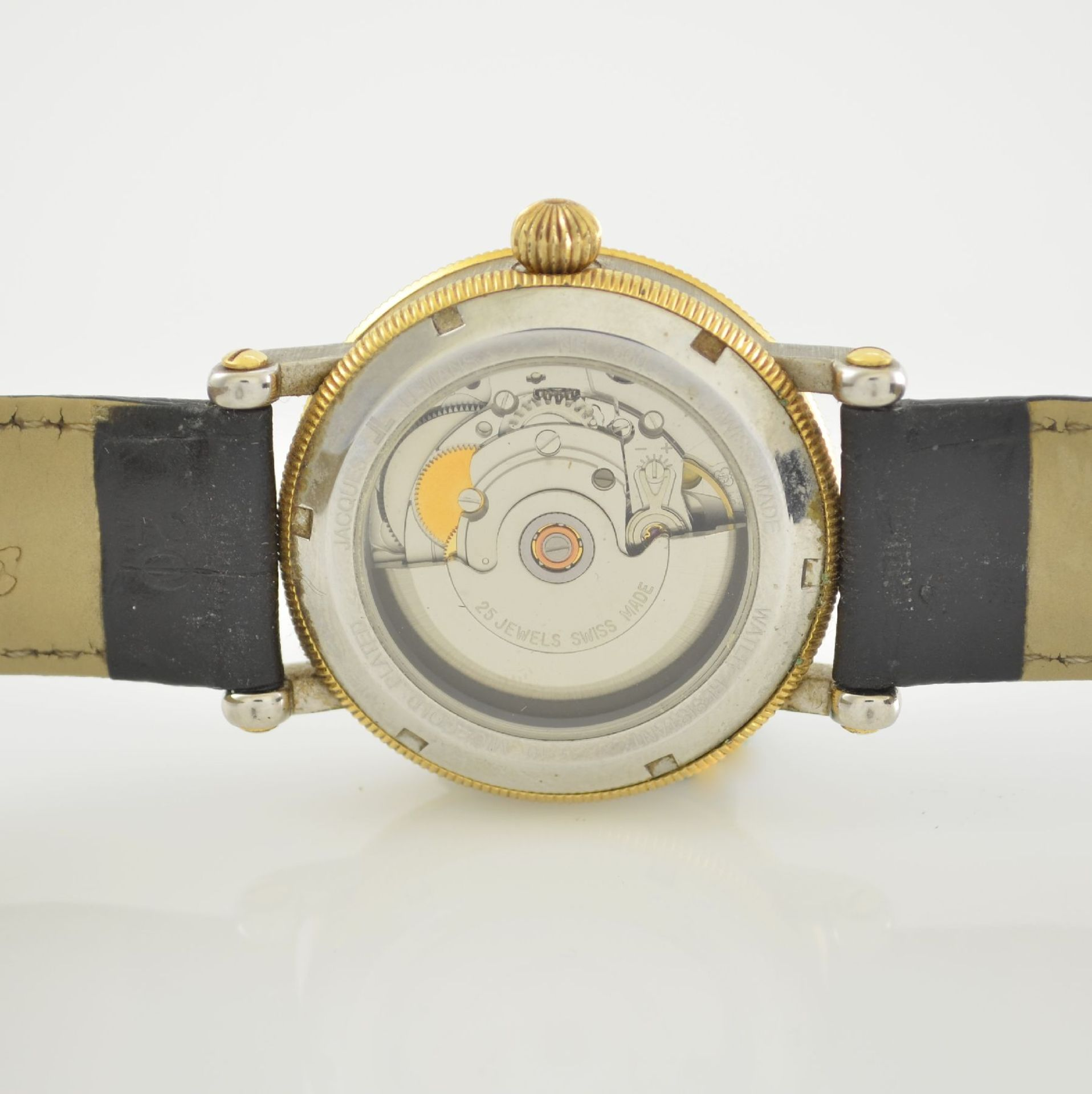 Konvolut: 2 Herrenarmbanduhren, Jacques Lemans& Gardé, Schweiz um 1995, Automatik, beids. vergl. - Bild 7 aus 14