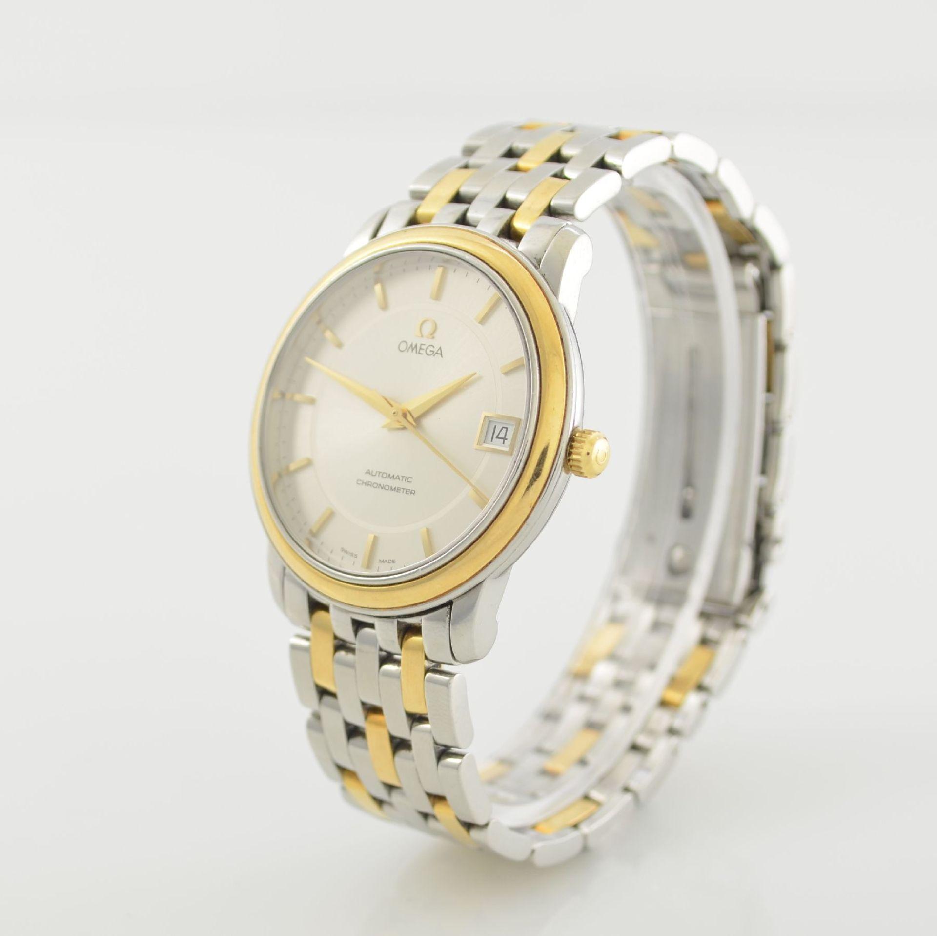 OMEGA Chronometer Herrenarmbanduhr in Edelstahl/Gold Ref. 168 1050, Schweiz um 2006, Automatik, - Bild 3 aus 7