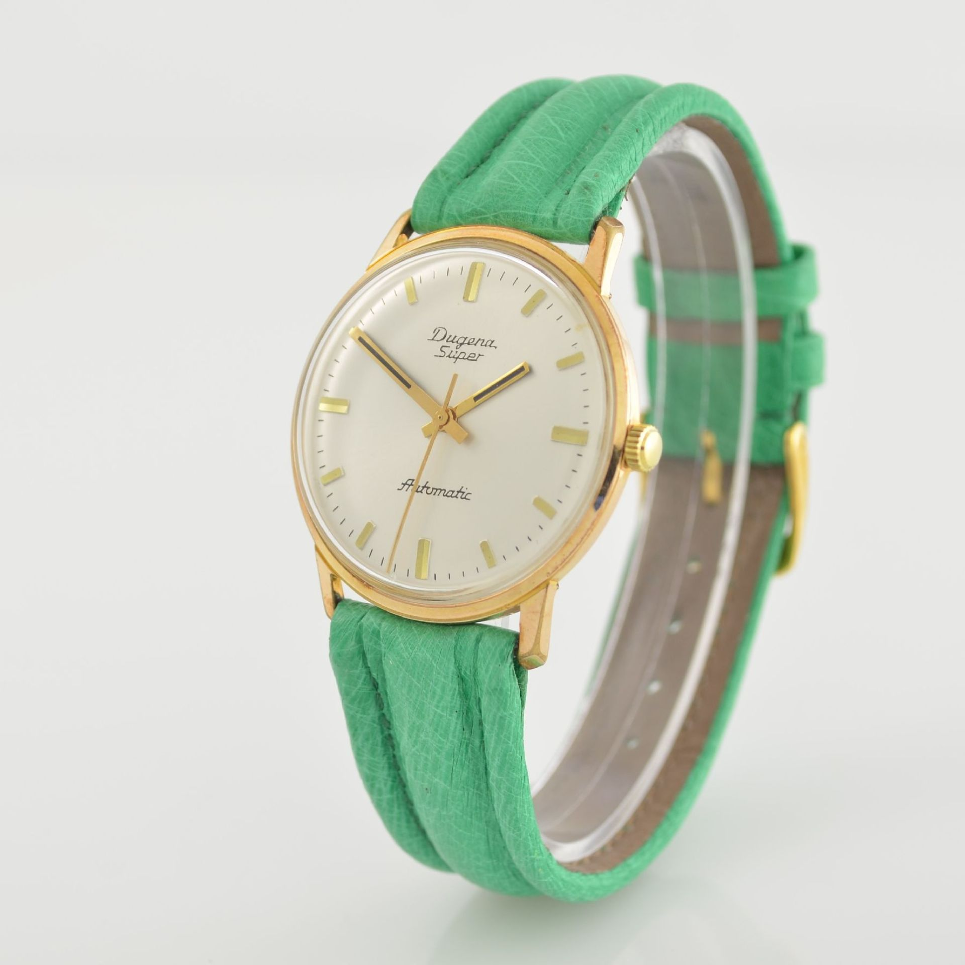 Konvolut: 2 Armbanduhren, beide Schweiz um 1970, beide Metall verg., 1 x Arsa Armbandwecker, Boden - Bild 9 aus 12