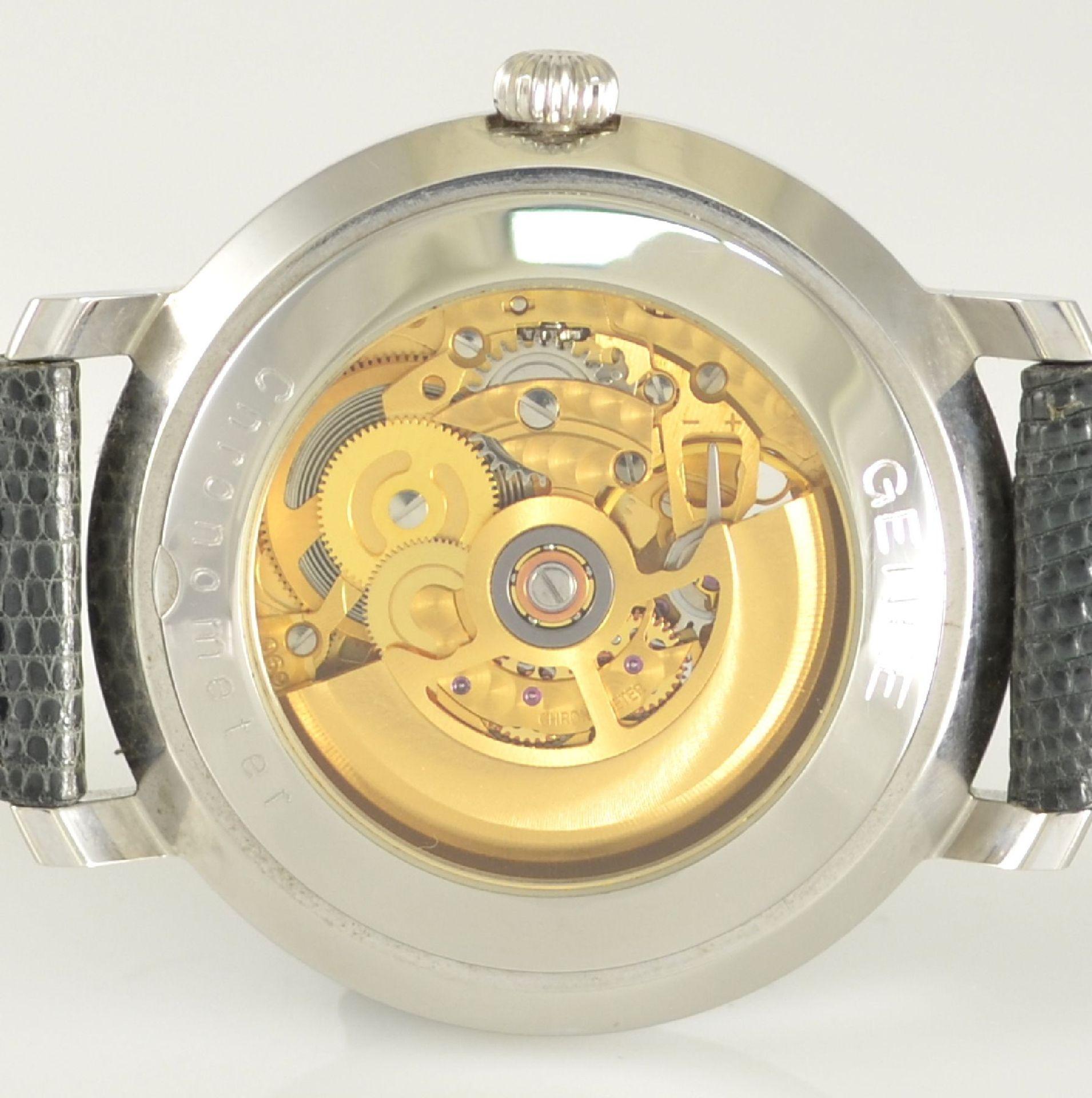 GENÉE No. 29 Chronometer-Herrenarmbanduhr in Stahl, Schweiz lt. beiliegendem Chronometerzertifikat - Bild 6 aus 8