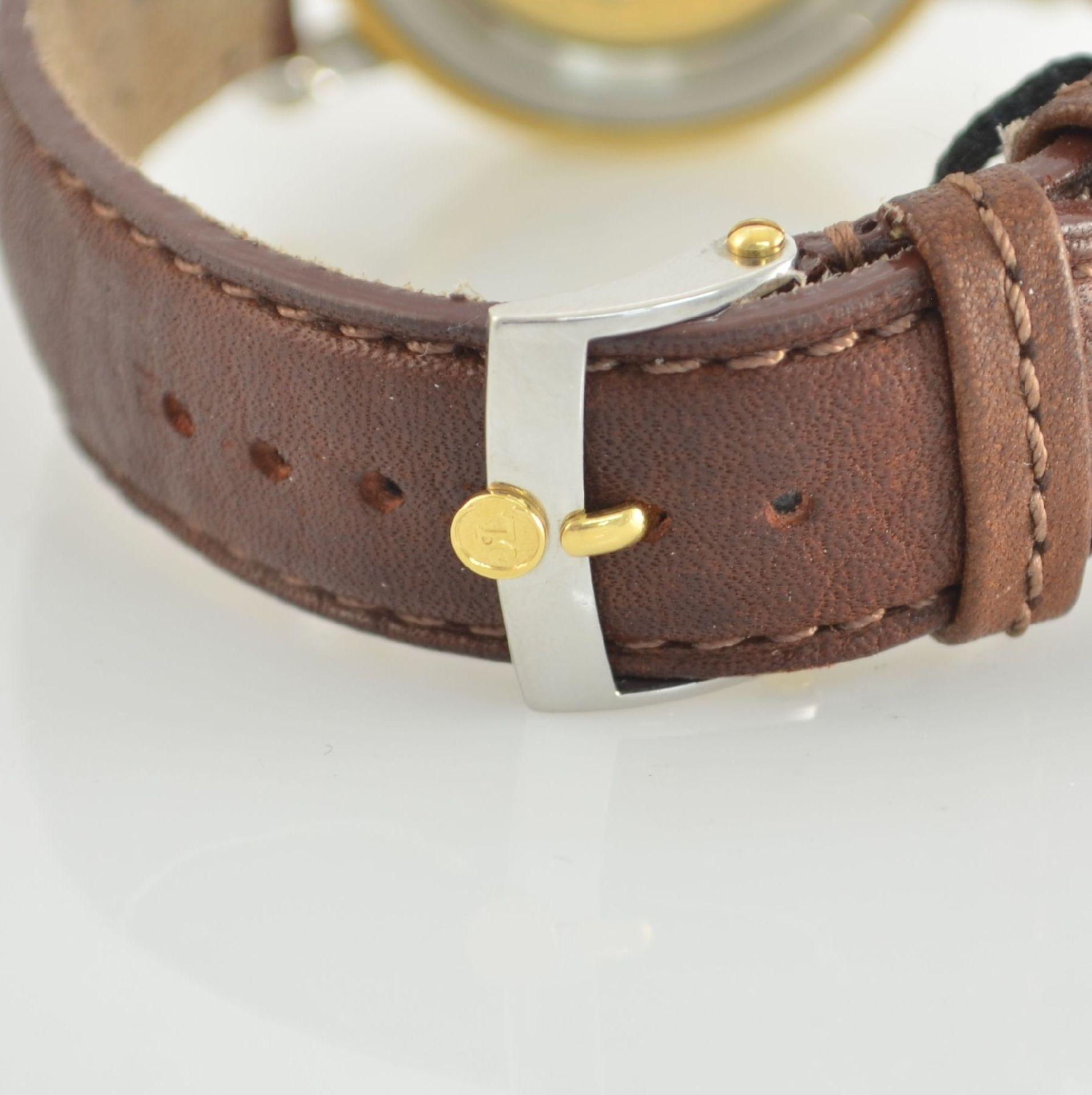 CHRONOSWISS Chronometer Herrenarmbanduhr, Automatik, Ref. CH 2822, Edelstahl/Gold kombiniert inkl. - Bild 5 aus 7