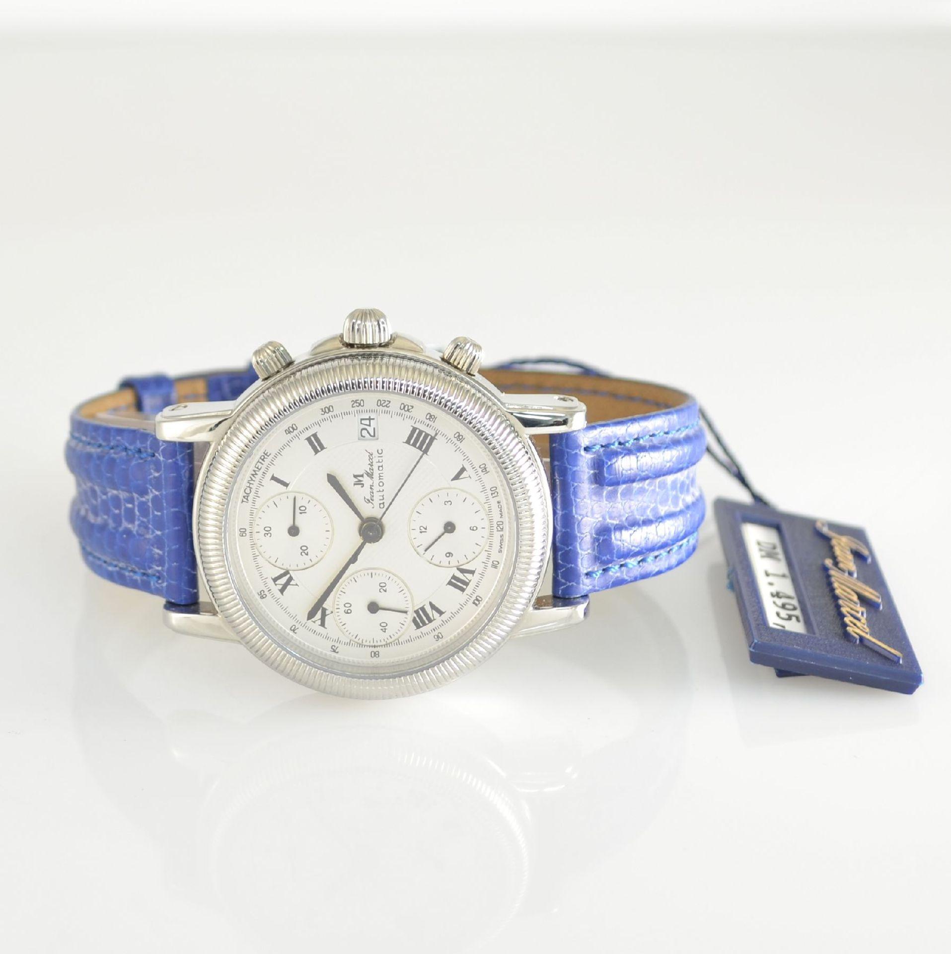 JEAN MARCEL Herrenarmbanduhr mit Chronograph, Schweiz um 2000, Automatik, Ref. 160.134, beids.