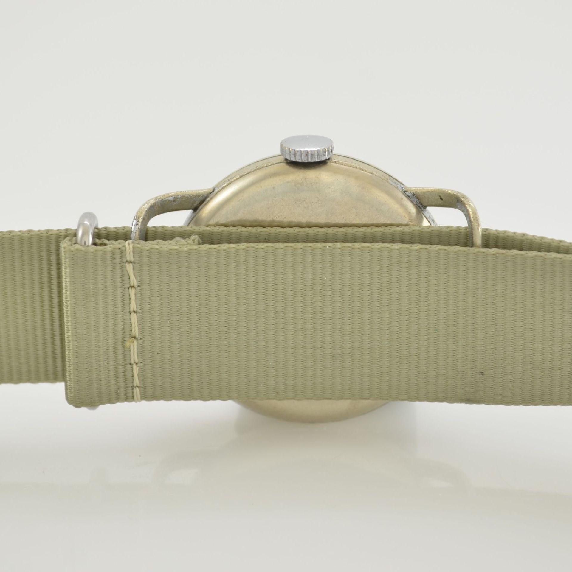MERBEND WATCH Spezial Antimagnetic Schockabsorber Armbanduhr im Fliegerdesign, Schweiz um 1935, - Bild 6 aus 6