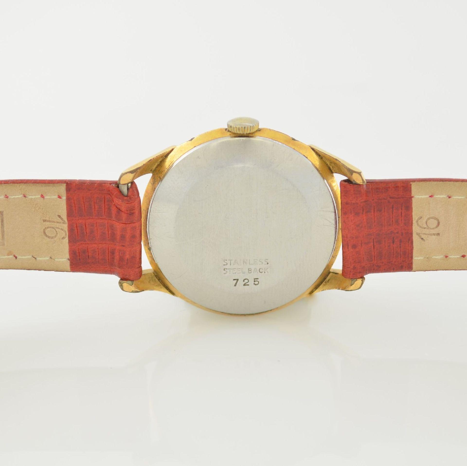 Konvolut: 2 Armbanduhren mit Kalender bzw. Datum, Schweiz um 1950-1960, Handaufzug, 1) NACAR m. - Bild 6 aus 12