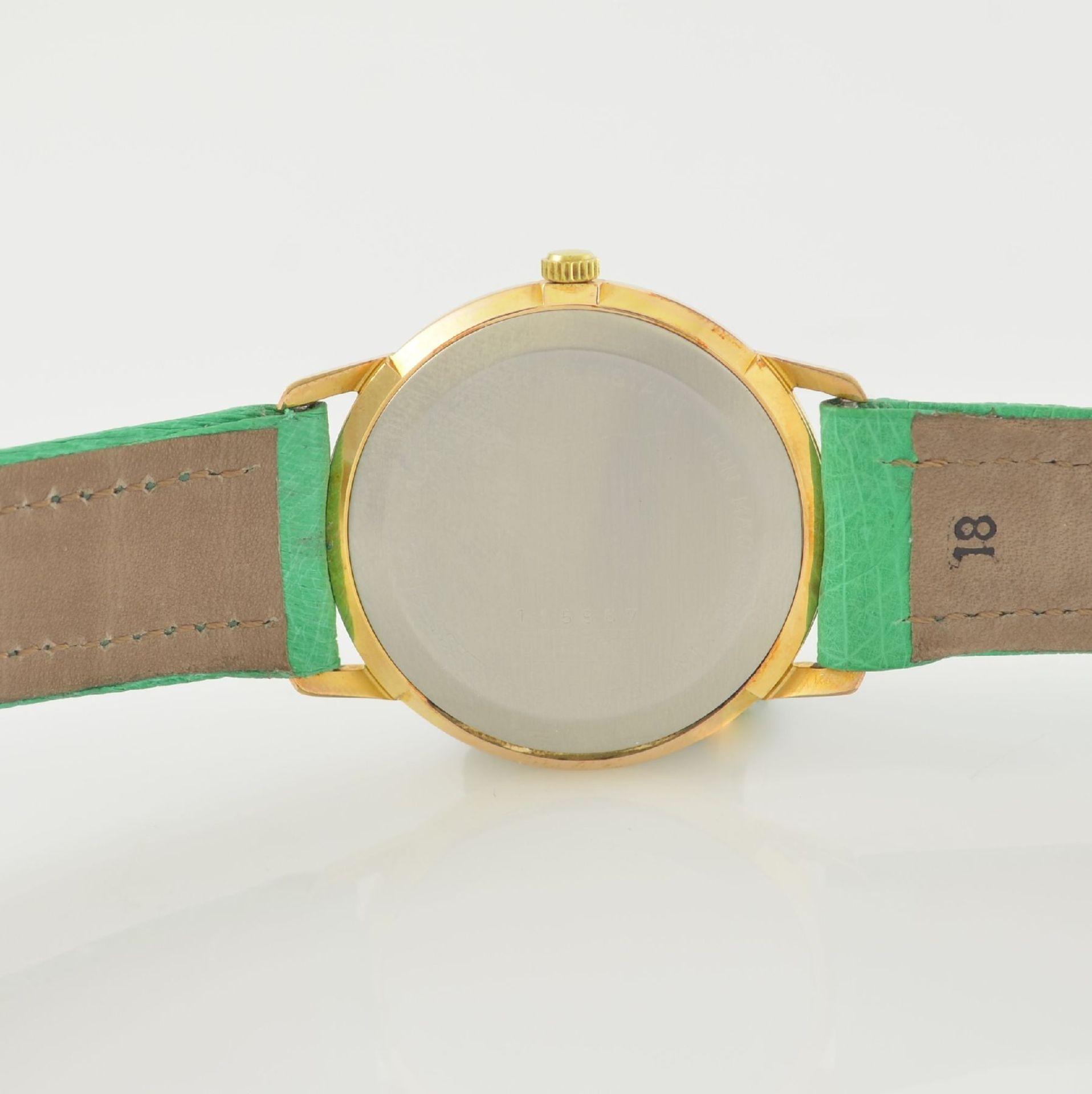 Konvolut: 2 Armbanduhren, beide Schweiz um 1970, beide Metall verg., 1 x Arsa Armbandwecker, Boden - Bild 12 aus 12
