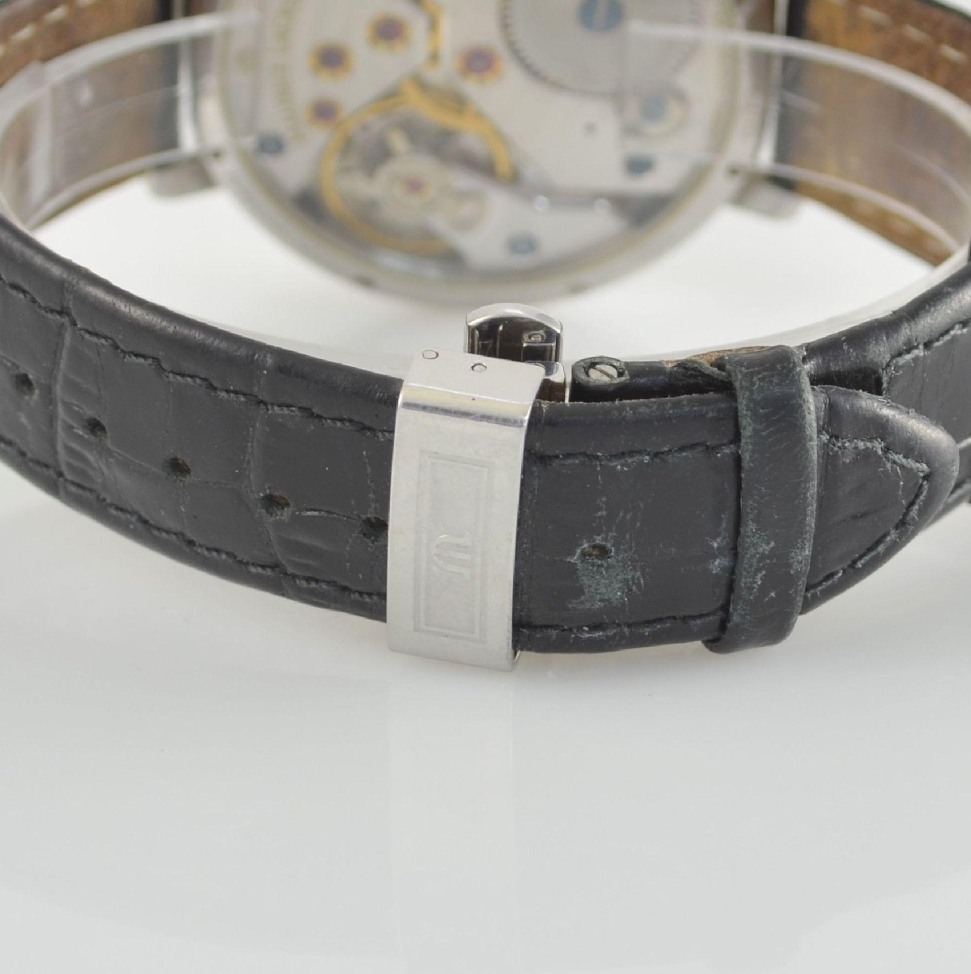 MAURICE LACROIX Herrenarmbanduhr aus der Masterpiece Collection Modell Calendrier Rétrograde, - Bild 5 aus 7
