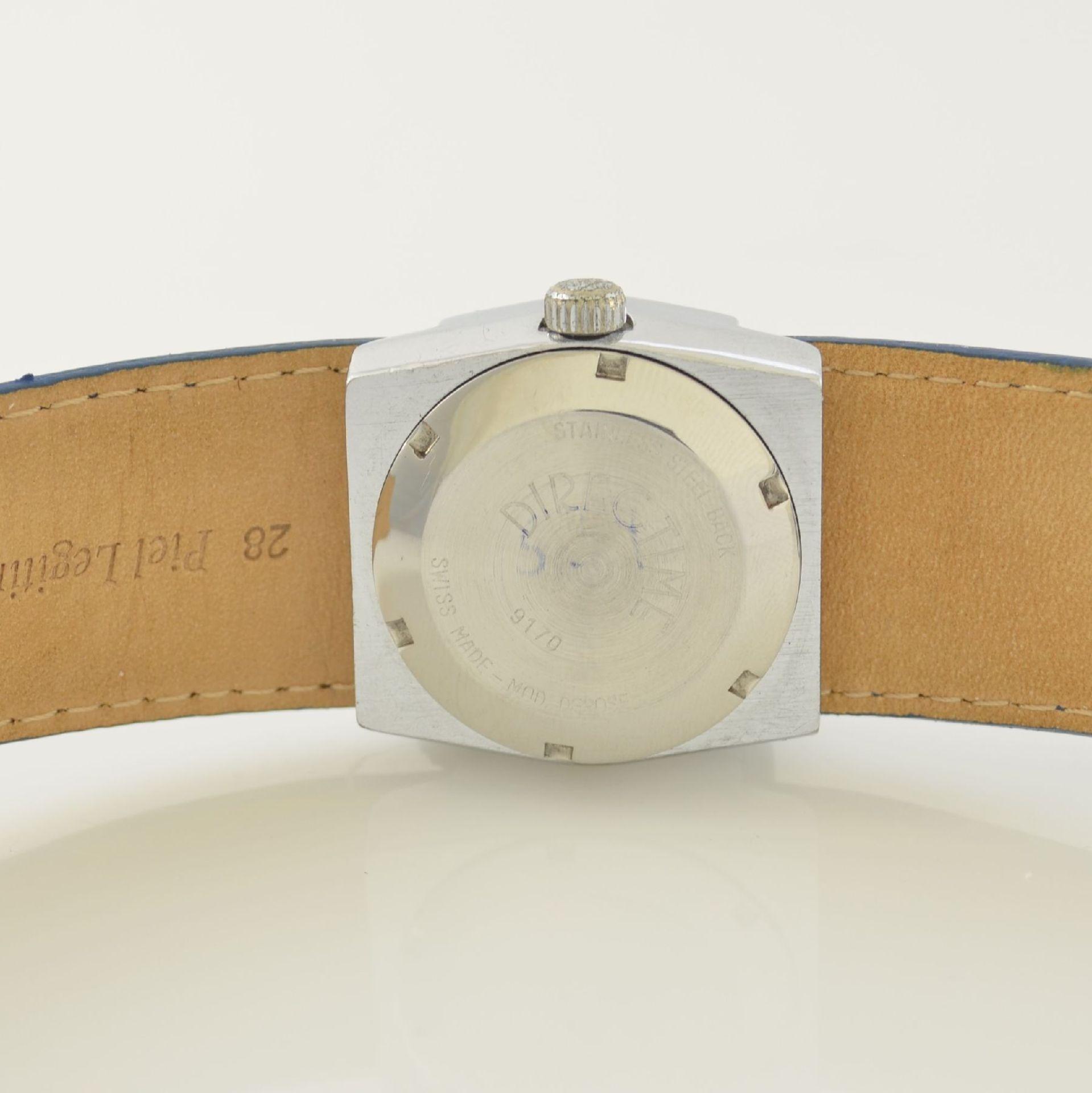 HOGA/Direct Time Armbanduhr mit digitaler Zeitanzeige Kal. AS 1902, Schweiz um 1970, Automatik, - Bild 6 aus 6