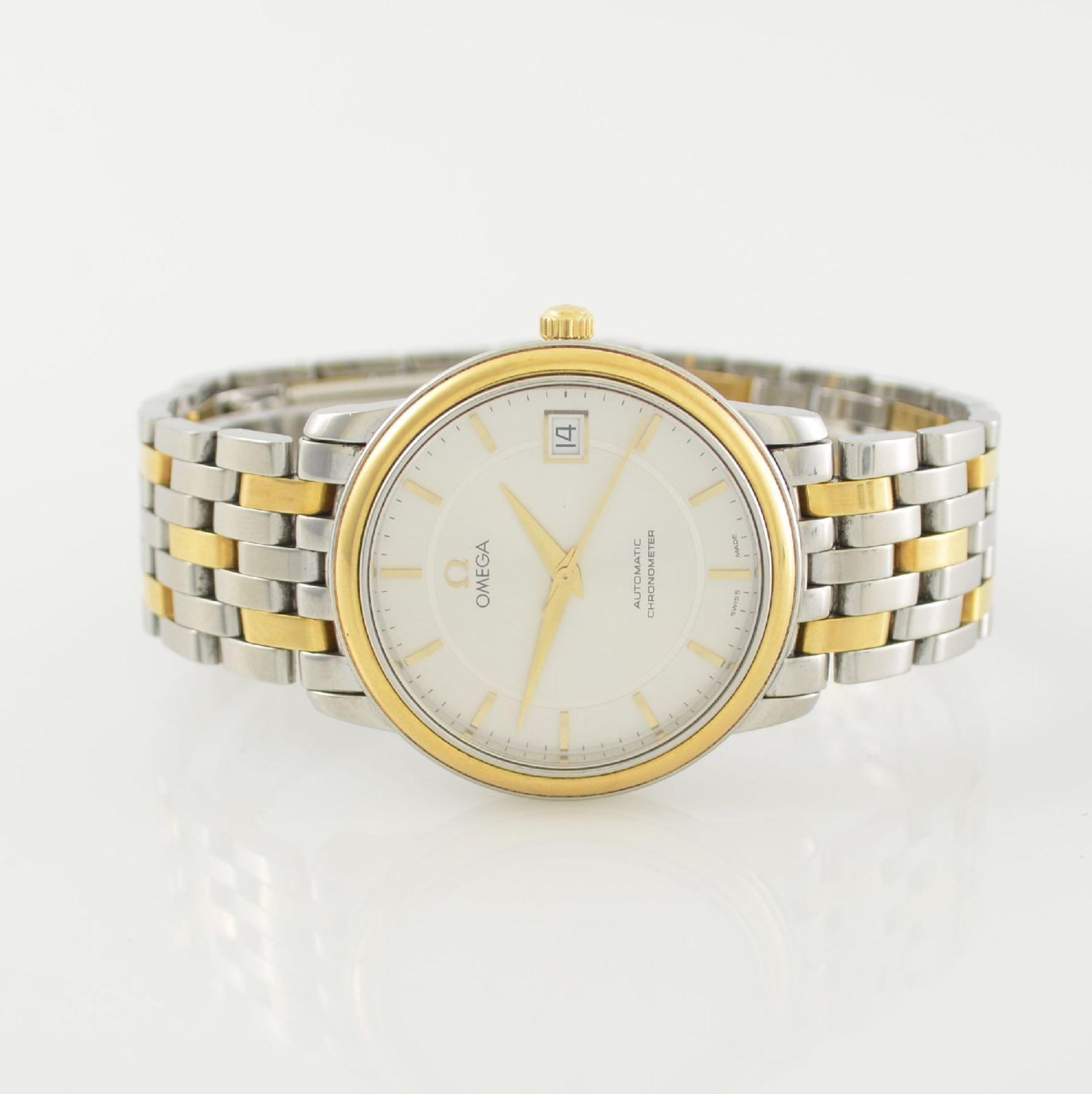 OMEGA Chronometer Herrenarmbanduhr in Edelstahl/Gold Ref. 168 1050, Schweiz um 2006, Automatik,