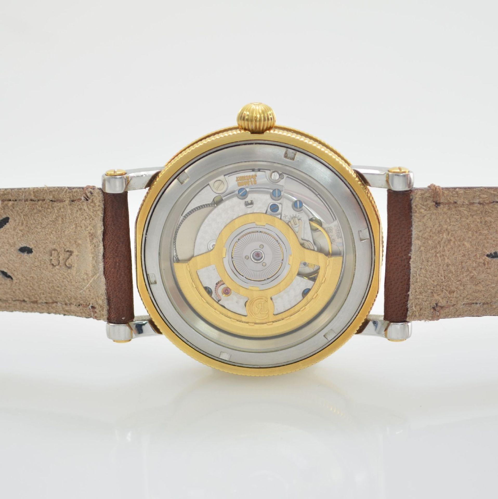 CHRONOSWISS Chronometer Herrenarmbanduhr, Automatik, Ref. CH 2822, Edelstahl/Gold kombiniert inkl. - Bild 6 aus 7