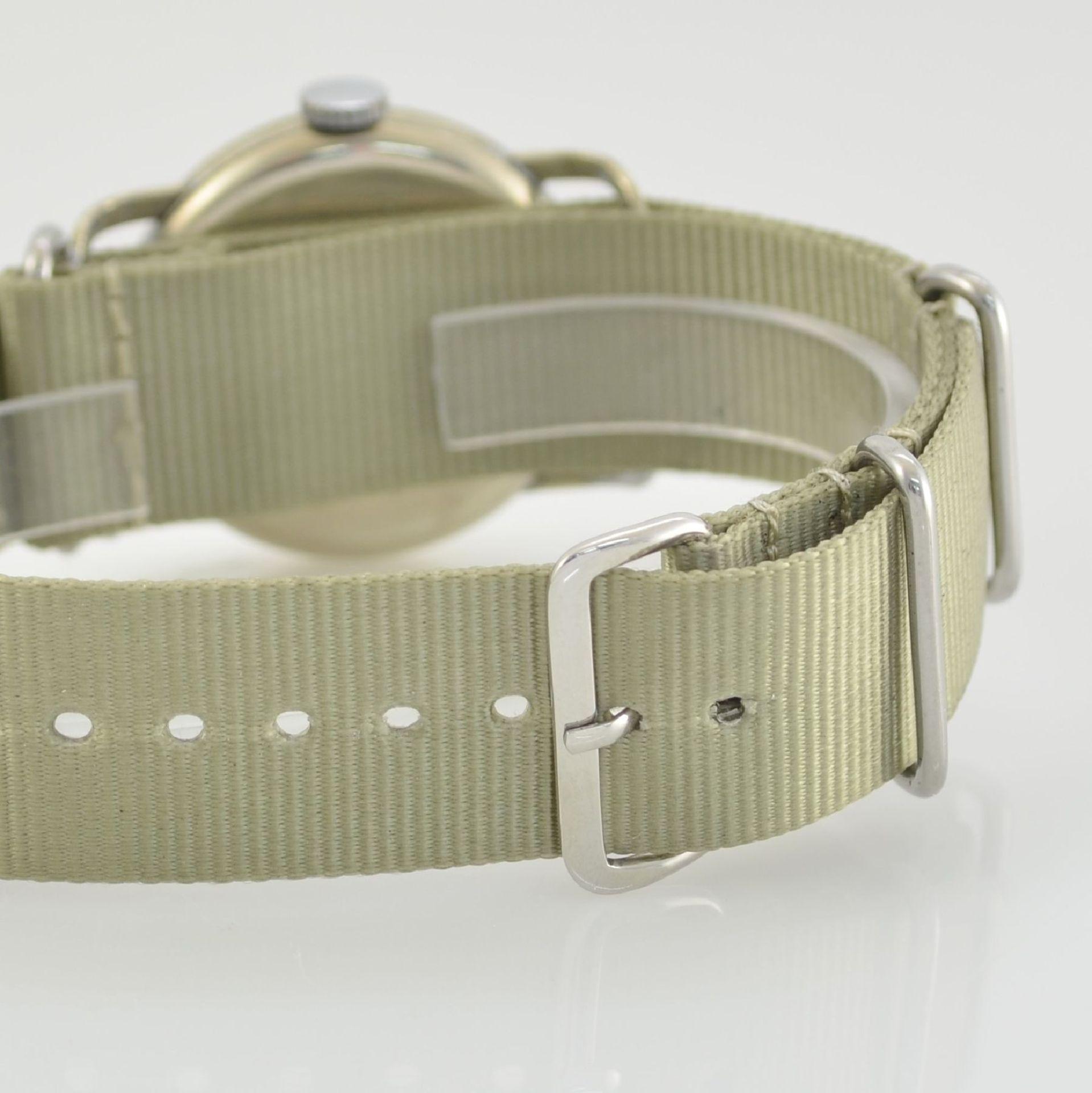 MERBEND WATCH Spezial Antimagnetic Schockabsorber Armbanduhr im Fliegerdesign, Schweiz um 1935, - Bild 5 aus 6