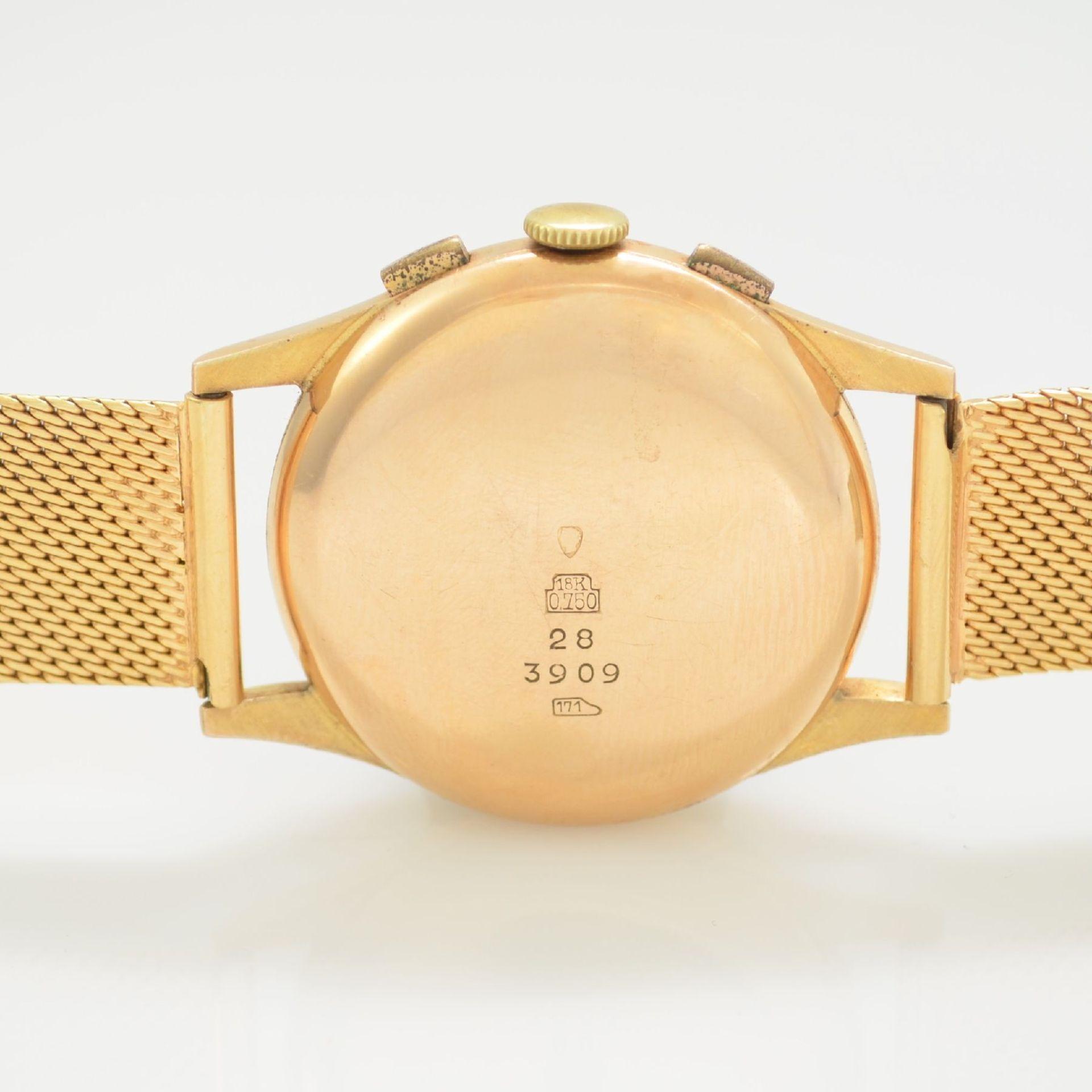 SUPERIO Chronographe Suisse Herrenarmbanduhr mit Chronograph in RoseG 750/000 inkl. RoseG 750/000 - Bild 6 aus 6