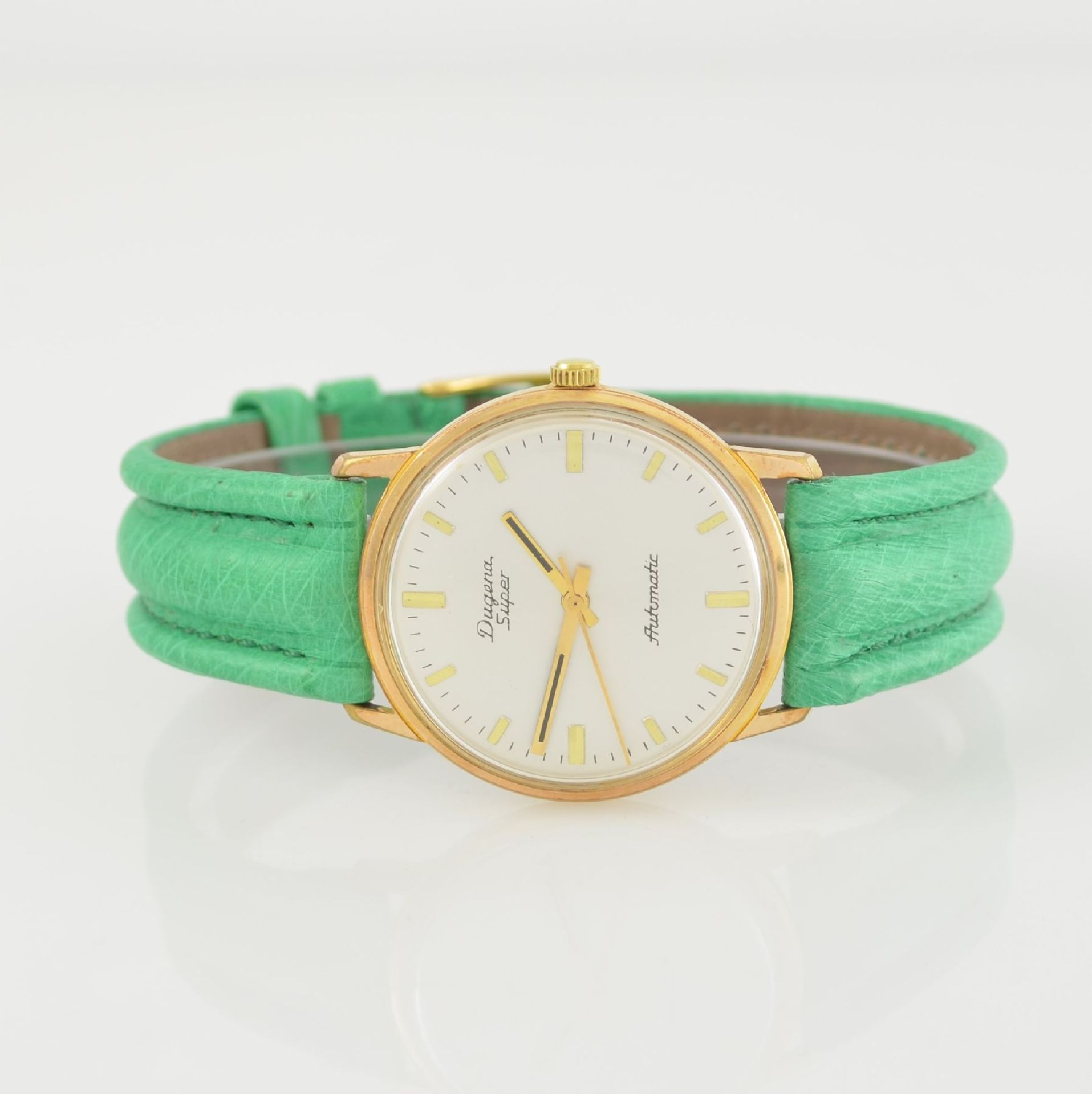 Konvolut: 2 Armbanduhren, beide Schweiz um 1970, beide Metall verg., 1 x Arsa Armbandwecker, Boden - Bild 7 aus 12