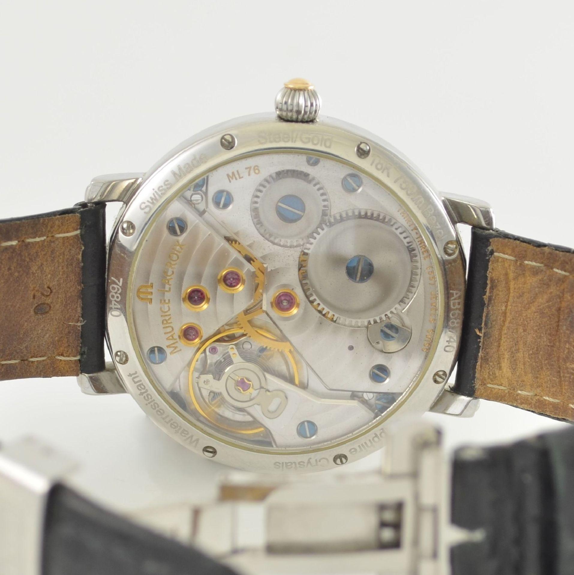 MAURICE LACROIX Herrenarmbanduhr aus der Masterpiece Collection Modell Calendrier Rétrograde, - Bild 6 aus 7