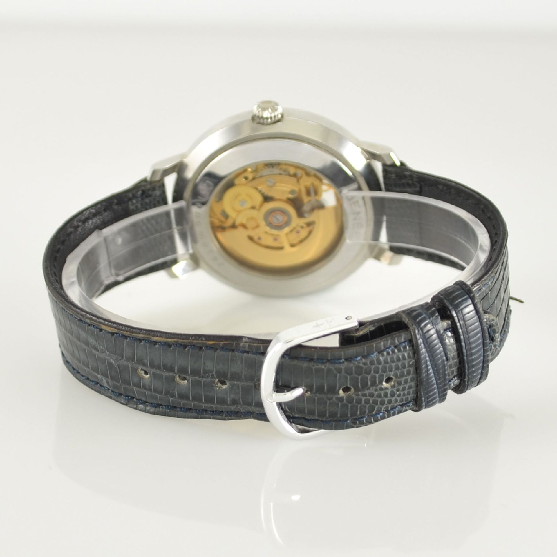 GENÉE No. 29 Chronometer-Herrenarmbanduhr in Stahl, Schweiz lt. beiliegendem Chronometerzertifikat - Bild 5 aus 8