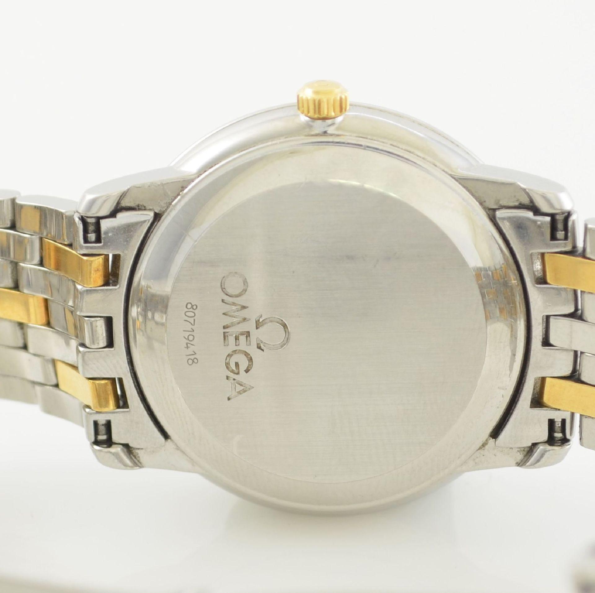 OMEGA Chronometer Herrenarmbanduhr in Edelstahl/Gold Ref. 168 1050, Schweiz um 2006, Automatik, - Bild 7 aus 7