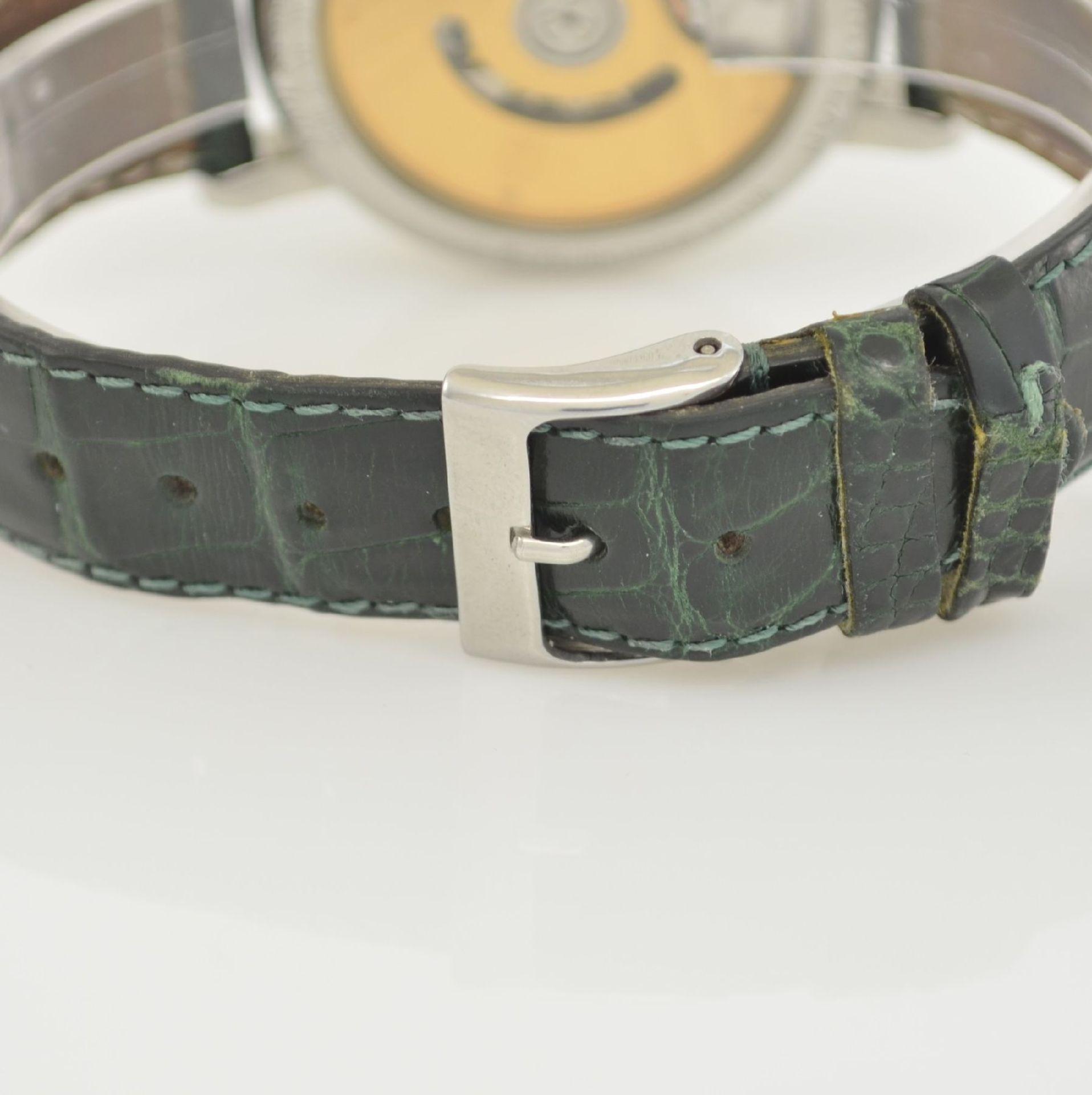 CLAUDE MEYLAN Herrenarmbanduhr mit Chronograph, Schweiz um 1995, Edelstahl/Gold kombiniert, beids. - Bild 5 aus 6