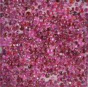 Lot lose Rubine, zus. ca. 23.7 ct, Rubine in versch. Größen und Schliffarten Schätzpreis: 2200, -