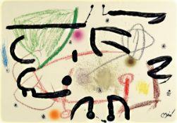 Joan Miro , 1893-1983, Konvolut aus Serie Maravillas con variacoiones acrosticas en el Jardin de