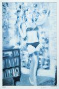 Gerhard Richter,geb. 1932, Farboffset auf Offset-Papier, Olympia, handsigniert, aus 1967, Blattgr.