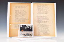 Joseph Beuys, 1921-1986, Iphigenie/Titus Andronicus, 1969/2009, vier 7-teilige Leporellos, Digital-