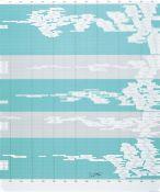 """Gerhard Richter, geb. 1932, Farboffset auf mattem dünnem Karton, """"Übersicht"""", handsigniert,"""